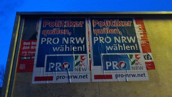pro-NRW-zerstoert-LINKE-Plakate