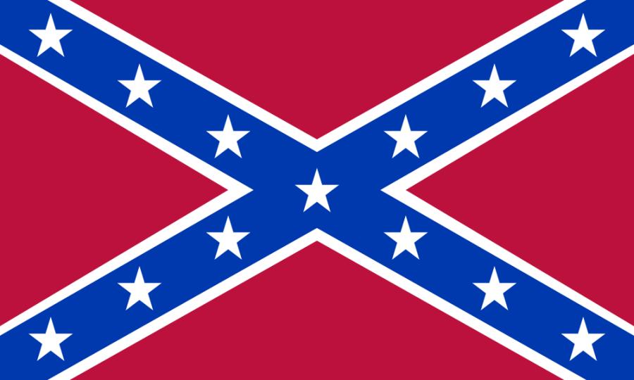 """Die """"Flagge der Südstaaten"""", Amerika"""