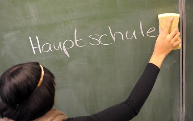 Hauptschule weg